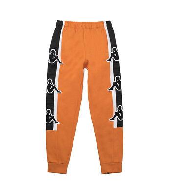 Kappa Kontroll Big Omini Pant Size Large Orange Rust/Black L IN HAND!