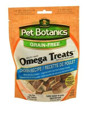 Grain Free Healthy Omega Treats for Dogs Chicken Human grade food 5oz