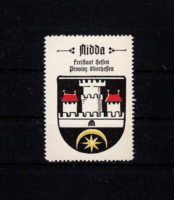 405855/ Reklamemarke - Kaffee Hag - Wappen von Nidda / Hessen