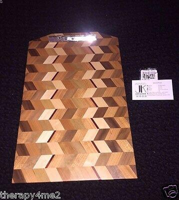 New Exotic Wood Clip Board Walnut Cherry Maple Padauk 107544-a Legal - Sub Gift