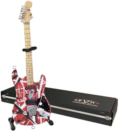 Axe Heaven Eddie Van Halen EVH Frankenstein Miniature Collectible Guitar