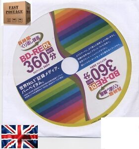 Blu-Ray Bluray Blu Ray BD-RE BD RE RW BDRE 2XSpeed 50GB 50 GB DL , Verbatim