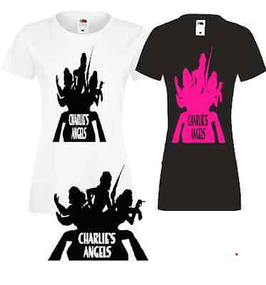 Charlie's Angels Costumes (Charlie's Angels  T SHIRT 60S)