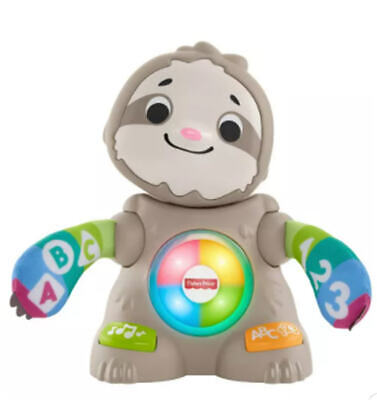 Fisher-Price Linkimals Smooth Moves Sloth - Sings And Teaches Works SUPER CLEAN