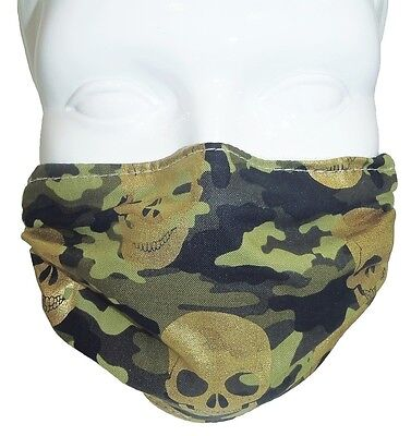 Camo Comfy Mask By Breathe Healthy  For Dust  Pollen   Allergy Relief  Cold  Flu