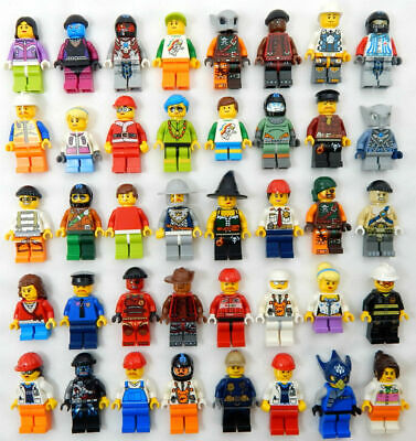 Lego Minifigure Set New City Town Minifig Lot Gift Kid Toy Figurine Collectible