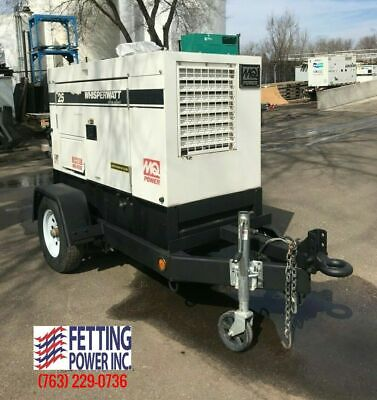 20kw Multiquip Mq Power Mobile Diesel Ultra Silent Generator Dca-25usi2