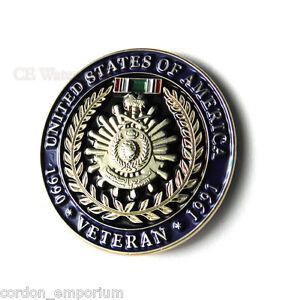 Operation-Desert-Storm-Gulf-War-Veteran-1990-1991-USA-Lapel-Pin-Badge-1-inch