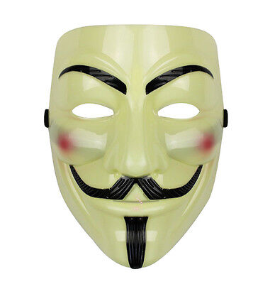 V FOR VENDETTA Mask Guy Fawkes Anonymous Halloween Cosplay Party Masks Costume - Costumes For Guys Halloween