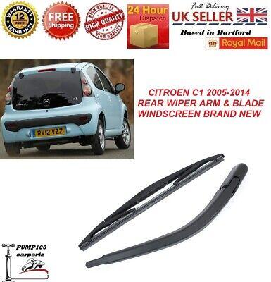 Rear Wiper Arm Citroen C1 1.0 1.4 HDi 3 or 5 Door Hatchback models 2005 onwards