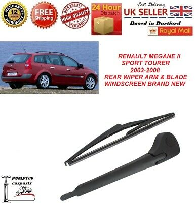 "Renault Megane Mk3 2008-on Coupe Rear Wiper Blade 14/"" F 350mm Direct replacement"
