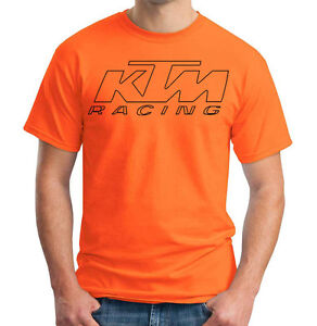 KTM Racing Motocross T-Shirt Motorcycle Dirtbike Supercross Shirt 3 Colors