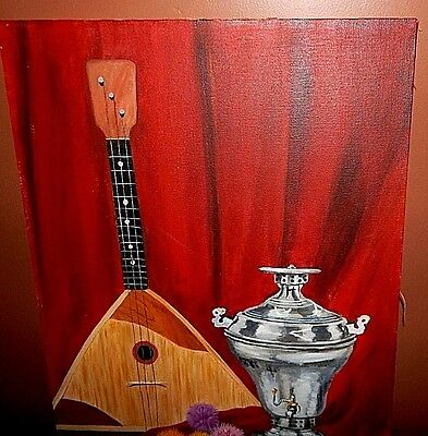 Balalaika / Turkish Coffee Pot.  Fashionably crafted and in Mint Condition