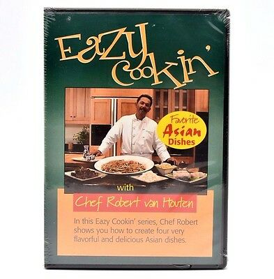 Favourite Dishes (Eazy Cookin' - Favorite Asian Dishes (DVD, 2004) Chef Robert van Houten  )
