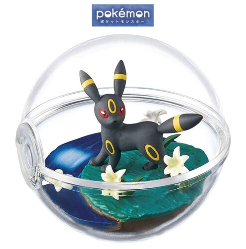 RE-MENT Pokemon Terrarium Collection Vol 4 Poke Ball Case Figure Umbreon Blacky