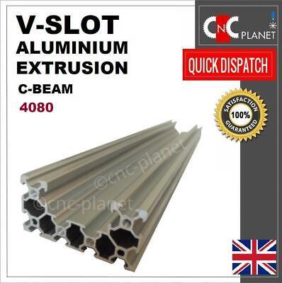 - C-BEAM V-SLOT 4080 ALUMINIUM EXTRUSION U PROFILE LINEAR GUIDE RAIL CNC 3D PRINTR