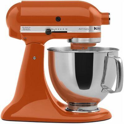 *New* KitchenAid Artisan Series 5 Quart Stand Mixer KSM150PSPN - Persimmon