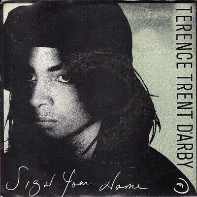 Terence Trent D'Arby Sign Your Name b/w Greasy Chicken (PS) 45-rpm