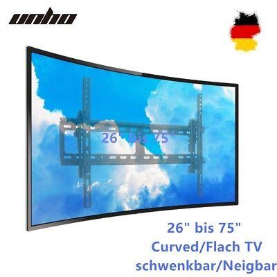 3D LED LCD Curved TV Fernseher Wandhalterung 26 42 50 55 75