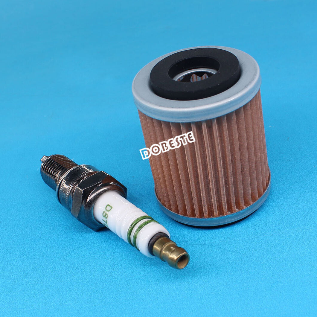 Spark Plug Oil Filter Tune Up For Yamaha Big Bear 350 Warrior Raptor Moto-4