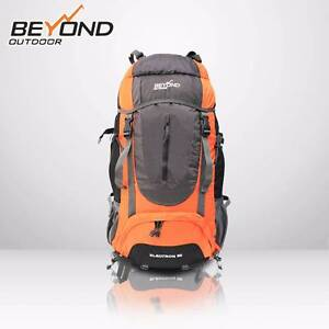 Details about  60L + 5L Outdoor Backpack Rucksack Bag Hiking Cam Dandenong South Greater Dandenong Preview