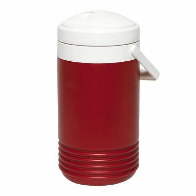 Igloo Legend 1 Gallon Drinks Cooler Insulated Beverage Jug Red Fishing Picnic