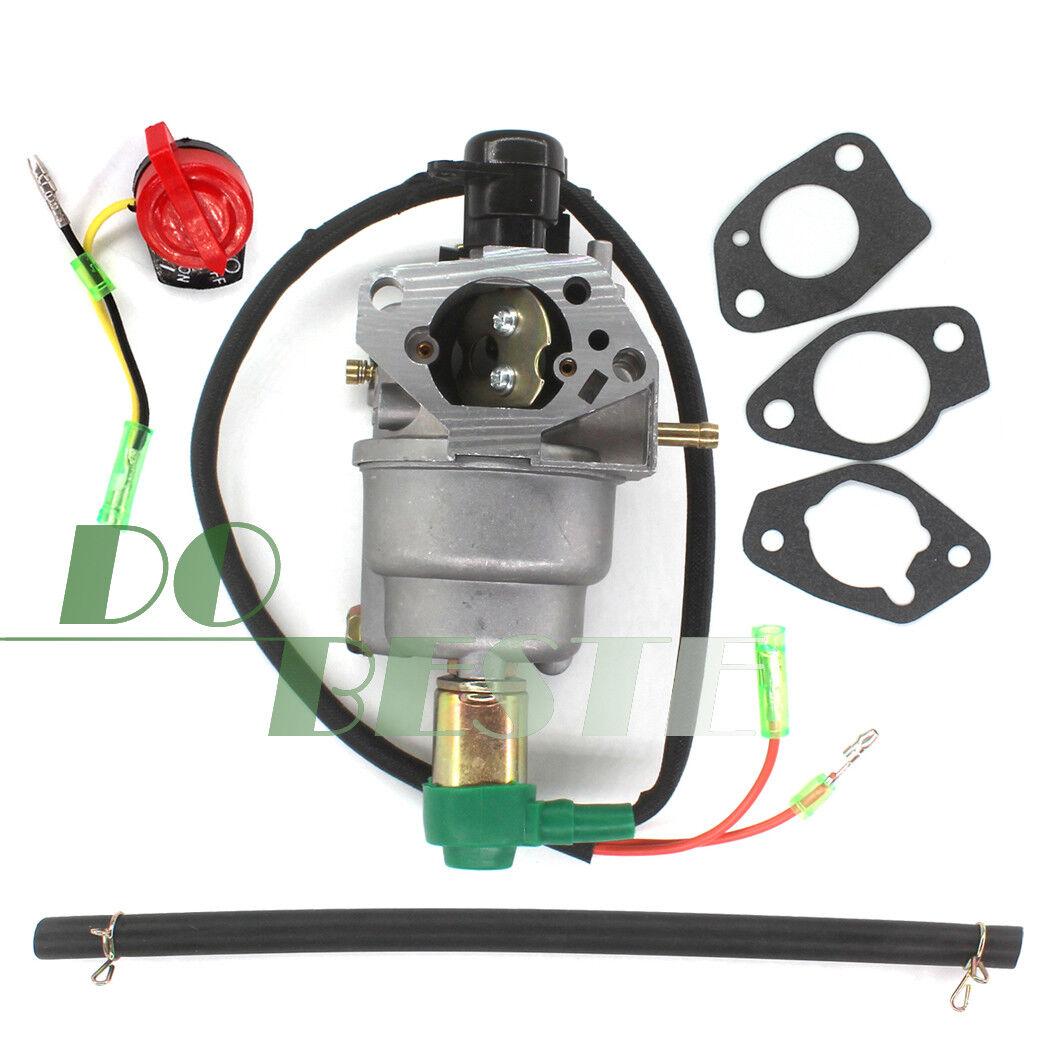 JEM/&JULES Carburetor For Harbor Freight Chicago Electric Generator Carburetor 98838 98839 13HP 6500 Watts