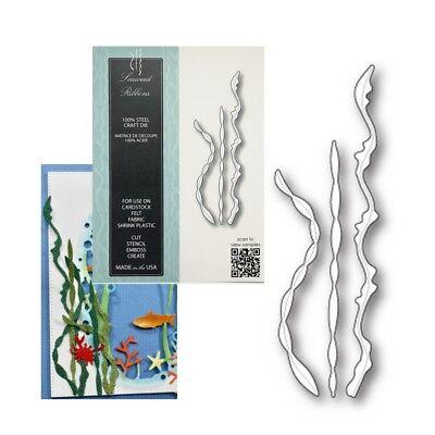 Машины для вырезки Seaweed Ribbons metal