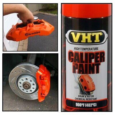 Orange Coating High Temp Caliper Brake Drums Rotor Springs Paint Coat Spray 900F
