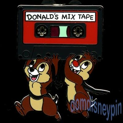 Disney Pin Chip 'N' Dale Making Off w/ *Donald's Mix Tape* (Unraveling - Oops)!