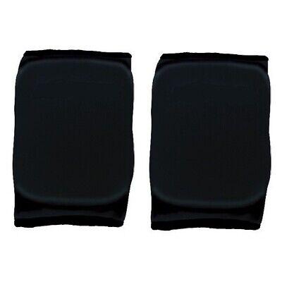 Martin Sports Set of 2 Contoured Knee/Elbow Pads Small, Black Contour Knee Pads
