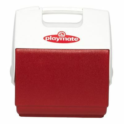 Igloo Playmate Pal 6 Litre Drinks Cooler Portable Carry Cool Box Red Fishing