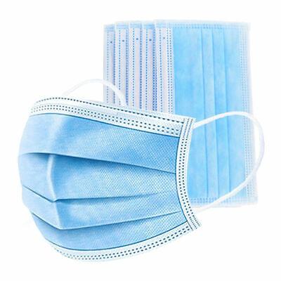 100 stück einwegmasken mund nasen Atemschutz maske Gesichtsschutz Mundschutz