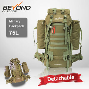Camping fishing Hiking Hunting Travel Backpack outdoor waterproof 75L
