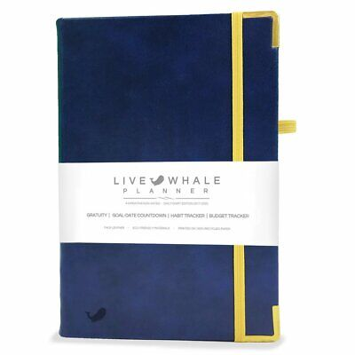 Live Whale Planner - Undated 4 Month Daily Planner Daily Organizer