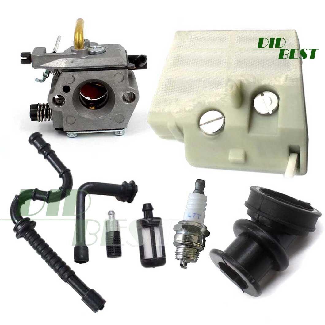 Vergaser Luftfilter Zündkerze Set für Stihl 024 026 MS240 MS260 # Walbro WT-194#