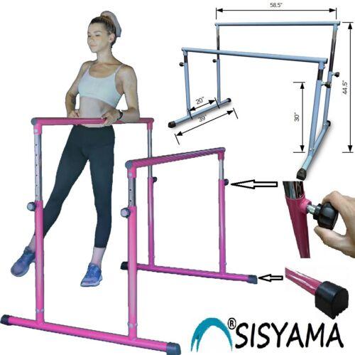 Ballet Dance Booty Barre Double Single Freestanding Adjustable Gym Parallel Bars