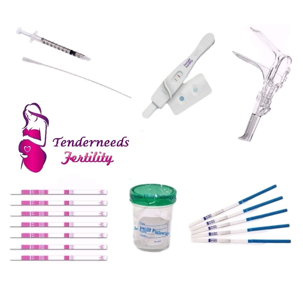 Insemination IUI Kit For Women Male Fertility Tests Pregnanc
