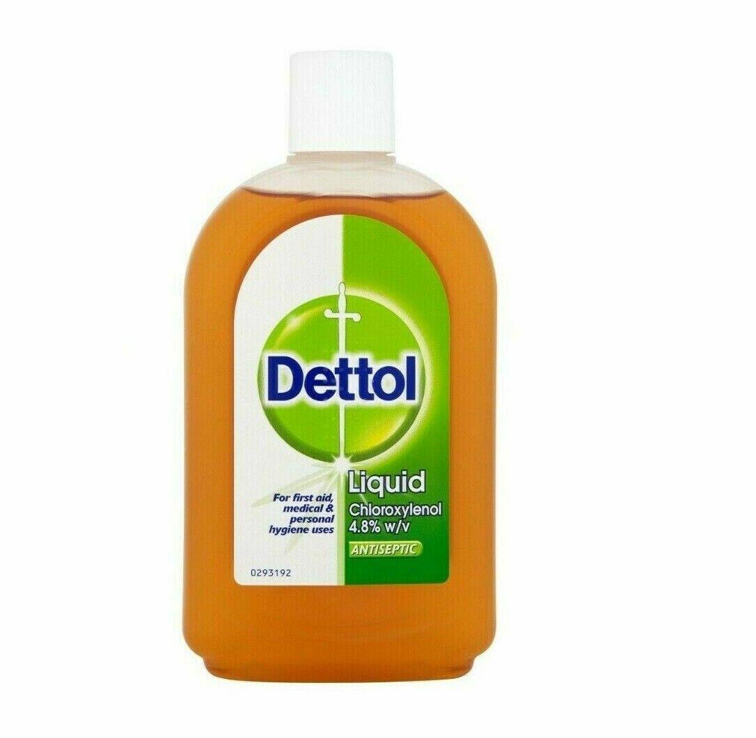 Dettol Antiseptic Disinfectant Liquid Chloroxylel 4.8% 500ml Antibacterial/Germs