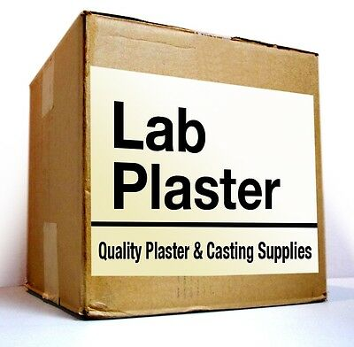 White Lab Plaster - Regular Set - 20 Lbs For 29.90 - Free Fast Delivery