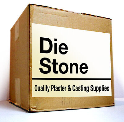 Plaster Guys Die Stone - Type 4 - Green -  25 Lbs  - Free Shipping
