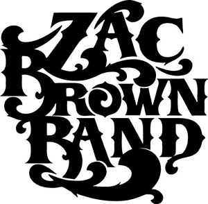 Zac Brown Band Uncaged Decal Sticker Free Shipping