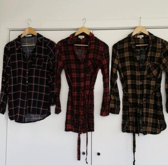 Ladies shirts size 10