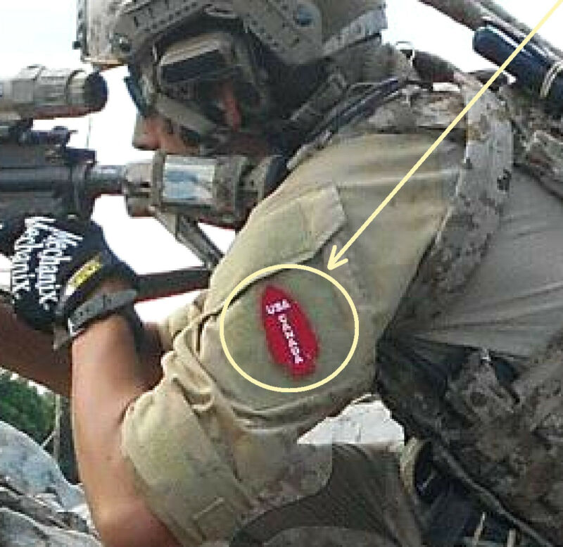 JSOC SEAL SPECIAL WARFARE DEVGRU JTF2 SAS burdock velkrö PATCH: Red Team DEVGRU