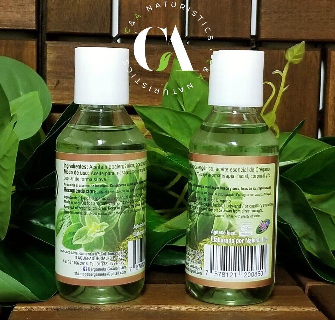 Aceite Organico de Oregano 100% Original & Concentrado (2Pack 125ml Each.) 1