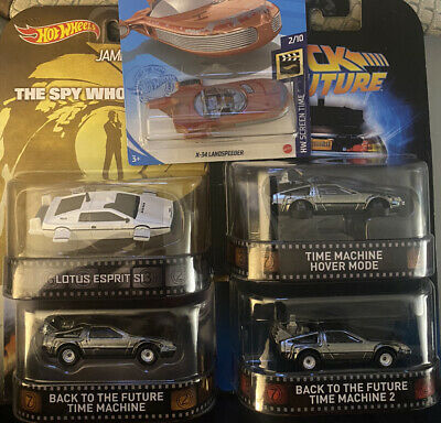 Hot Wheels Back To The Future Time Machine,Time Machine 2, Hover Mode,2021 X-34