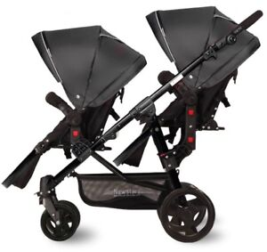 New baby double stroller