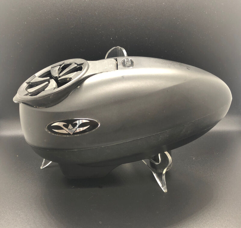 Valken V-Max Paintball Hopper Black W/ Speed Load & Normal Lid