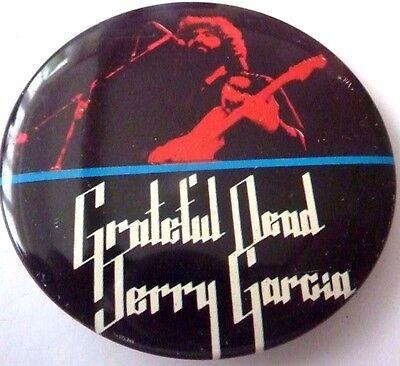 """GRATEFUL DEAD, JERRY GARCIA,, Vintage Metal  Badge 2 ½   """""""