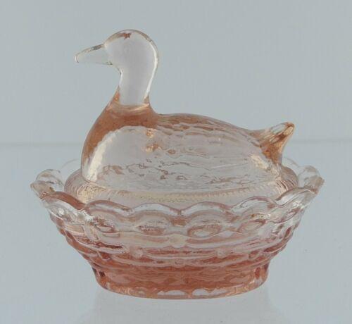 Boyd Glass Duck Salt Cranberry